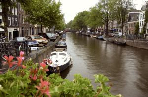 Rainy Day on the Canal by BoyWonder024