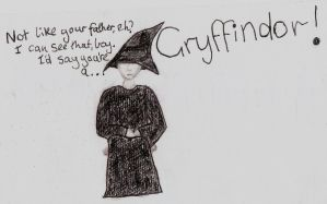 Scorpius Malfoy - Sorting Hat by isthisrubble
