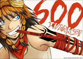 600 Thanks by Tenaga