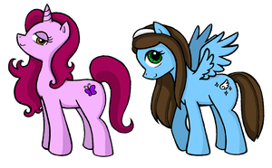 Pony Ladies by DoubleLeggy