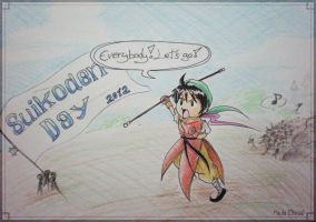 Suikoden Day 2012 - Everybody! Let's go! by ChiisaYanagi