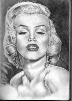 Marilyn Monroe by Hyaxin