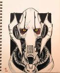 General Grievous-Inktober Day 8 by Dr-Carrot
