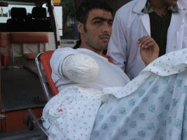 Wounded in Gaza 2 by ademmm