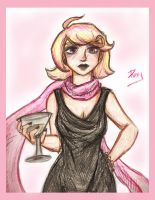 Dress up, Roxy! by dudeimmikayla