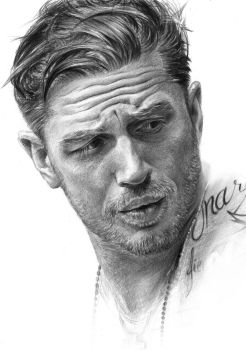 Tom Hardy by mahyar-kalantari