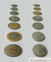 Algerian coins by mascara84