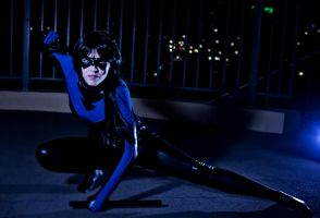 Earth 63 Nightwing by echoing-artemis