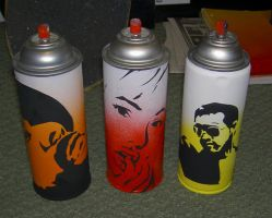 spray cans by spectreDeck