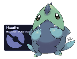Fakemon: Hamite by Kydeka