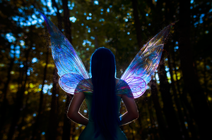 Follow me to Pixie Hollow by GlowingPearl