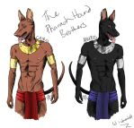 Pharaoh Hounds by AlyOh