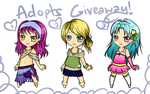 ADOPTS GIVEAWAY!! [closed] by Devangelic