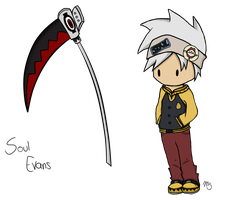 Chibi Soul Evans- Soul Eater by Tawiie