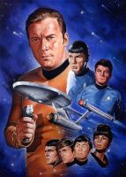 Star Trek by roberthendrickson
