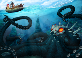 Kraken Grimm by TheRogueSPiDER