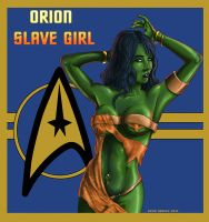 Orion Slave Girl by drawnblud