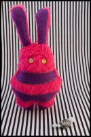 BunnyBoo Plush Pink Fluff by MonstriBoo