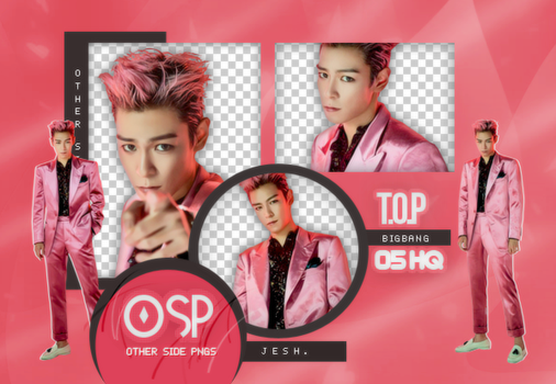 T.O.P PNG PACK#1|BIGBANG by UpWishColorssx