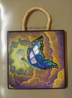 TARDIS Butterfly in the Time Vortex by HanBO-Hobbit