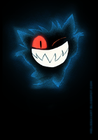 Gengar by sketchinthoughts
