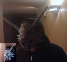 Gargoyle Mask by Tremlin