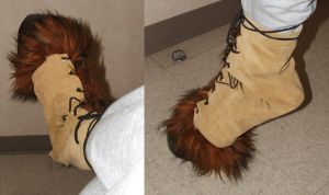 Faun Costume - Finished Hoof by lauraneko