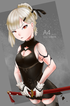 A4 - NieR:Automata by exceld
