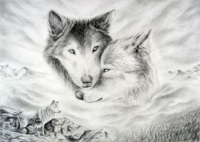 wolves by Sky-max