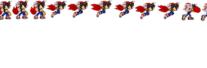 Verto's Shining Finger sprites by SuperSonic124TH