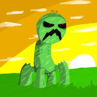 The Creeper by Masterluis500