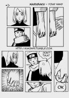 NaruSaku - Your Hand by NaruSasuSaku91