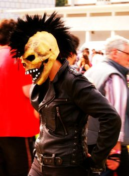 Ghost Rider cosplay with crest by DevilPainKiller