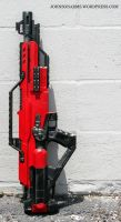 Mass Effect Nerf Stampede No.3 by JohnsonArms
