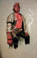Hellboy by jessecarlsteen