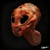 Alien Head by Rizazte