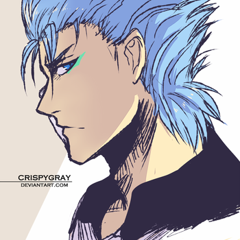 Grimmjow by CrispyGray