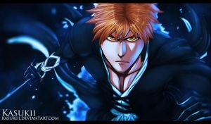 Bleach 499 : Ichigo by Kasukiii