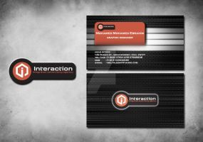 interaction card and logo by eltolemyonly