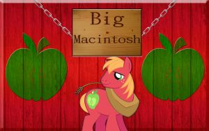 Big Macintosh Wallpaper by Macgrubor