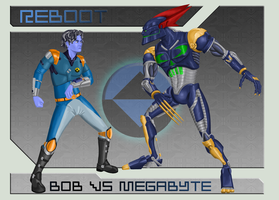 Bob vs. Megabyte Concept by CC-5052