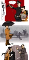 Goebbels and Himmler by iago-rotten