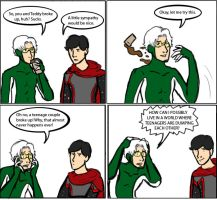 Young Avengers: Breakup by magickmaker