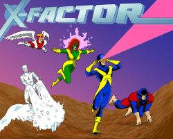 X-Factor the Animated Series by pjperez