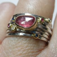Ruby Stack by Genuinejewel