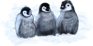 Penguins by darksunday