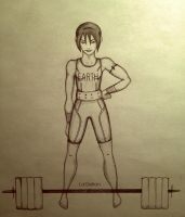 Olympics Series: The Weightlifting Champion by LaGelian