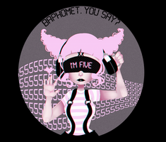 B4PH0M3T [GIF] by GrimmBunny