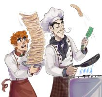 requests humanized Chef and Yourben by Kethavel