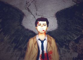 Castiel by Number-14
